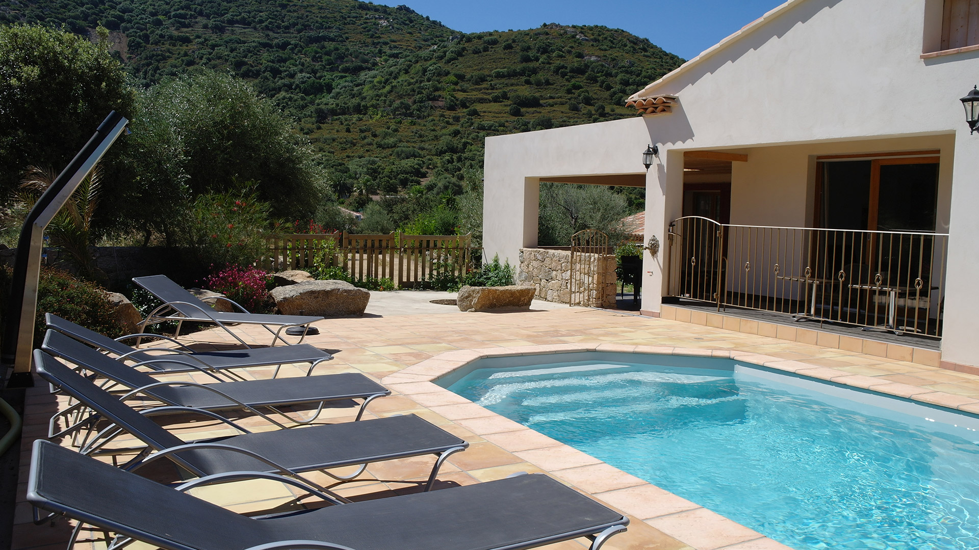 Vacation villa rental in Ile Rousse